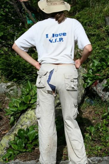 Саяны, последствия лазанья по горам :)
