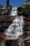 Саяны водопад Корбу