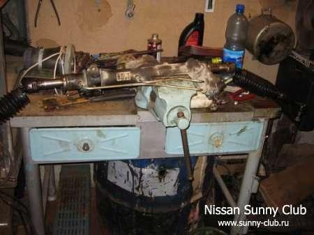Отчет о ремонте рулевой рейки