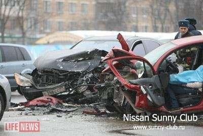 В Москве в ДТП с Mercedes ЛУКОЙЛа погибла известный врач-акушер