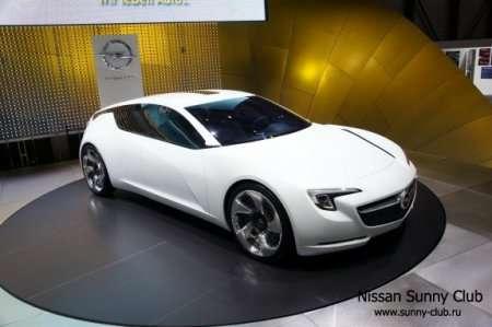 Женева 2010: электромобиль Opel Flextreme GT/E