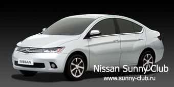 Nissan предложит японцам новый Sunny, построенный на базе модели March (Micra)