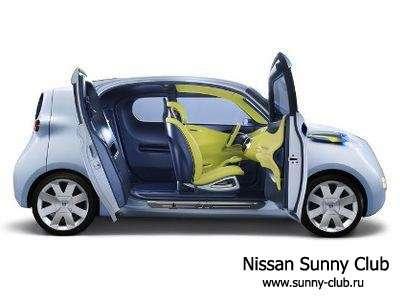 Nissan Townpod на Парижском автосалоне