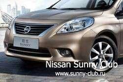 В Китае показали дешевый глобальный седан Nissan Sunny