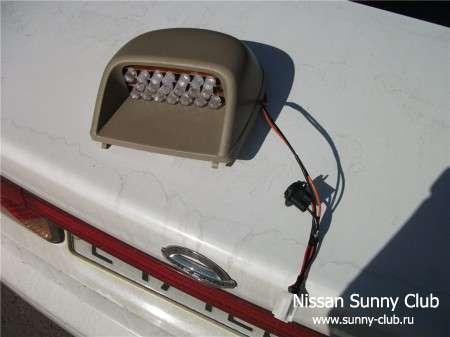 Переделка третьего (салонного) стоп-сигнала на светодиоды