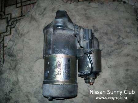 Ремонт стартера Nissan Sunny