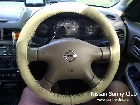 Обтяжка рулевого колеса универсальной оплеткой (под кожу)